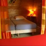 chambre lits simple-chalet