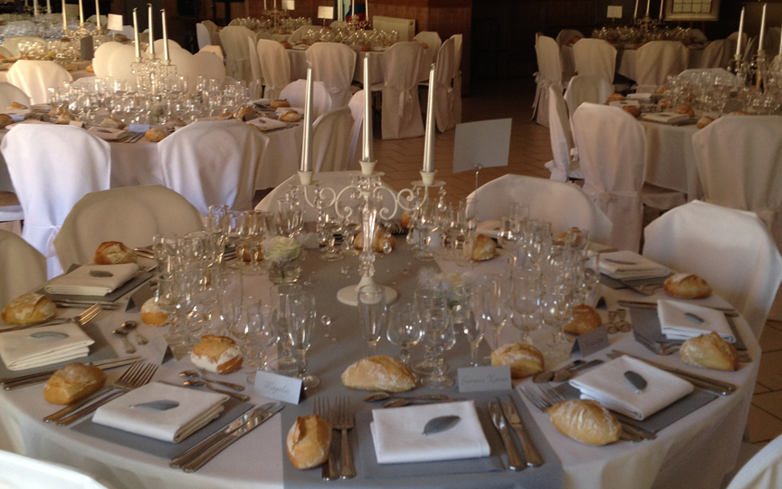 mariage table gite du grand cerf